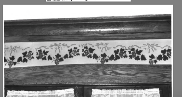 Blast from the Past: Trims and Etchings Around the House