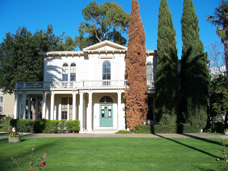 James Lick Mansion (built, 1858-60)