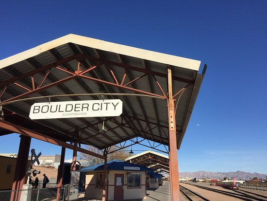 The Nevada Southern Railway at the Nevada State Railroad Museum in Boulder City, Nevada. (Photograph, Trip Advisor)