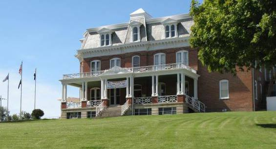 The Busch Mansion is located next to the former brewery complex. Photo: VFW Post 2661
