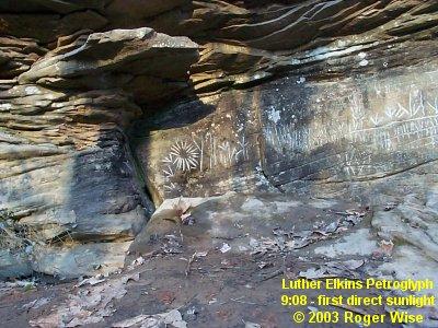 Luther Elkins Petroglyph