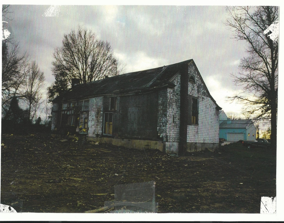 The school before any reconstruction