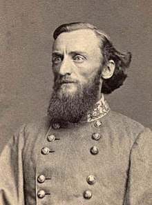 John S. Marmaduke (1825-1887) led the division that raided Washington. He would later become governor of Missouri in 1887.