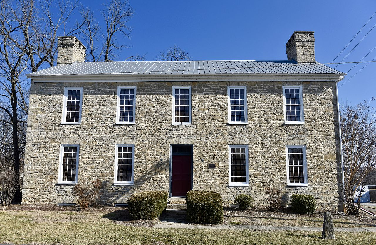 The Shapley Ross House is a rare example of a fine stone masonry structure in Lincoln County.