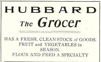 1904 Hubbard advertisement