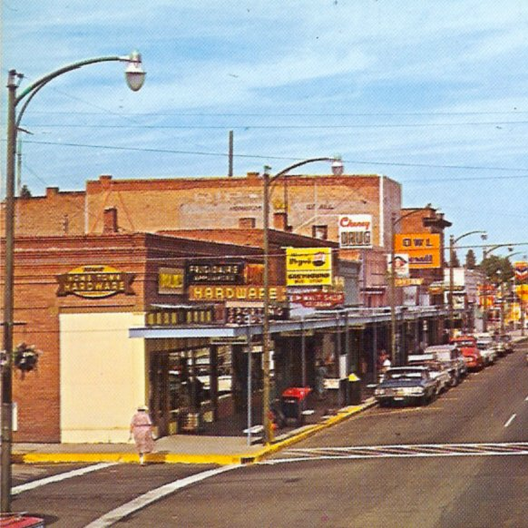 Holmes Hardware about 1965