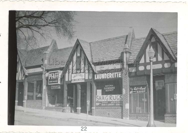 Launderette, circa 1957