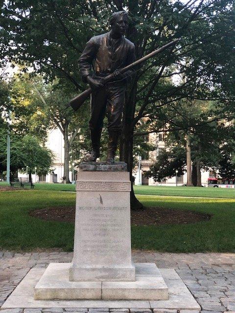 Henry Lawson Wyatt Monument