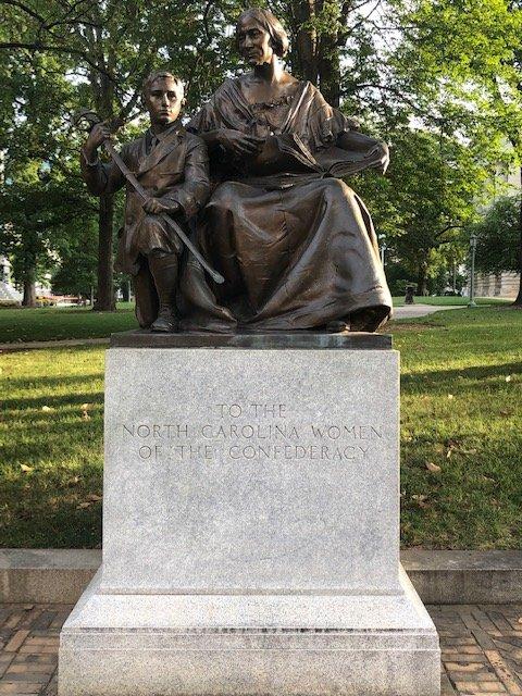 North Carolina Women of the Confederacy Monument