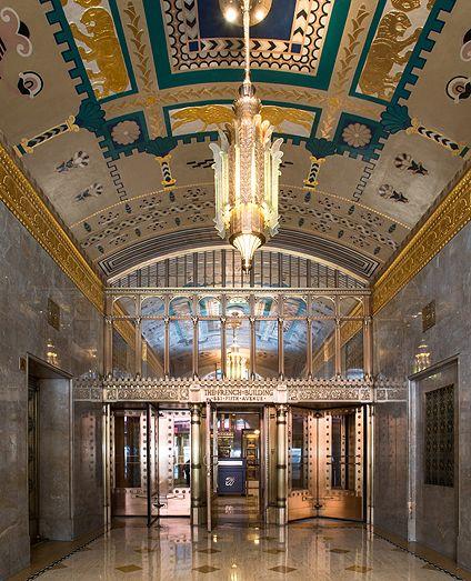 The building's lobby