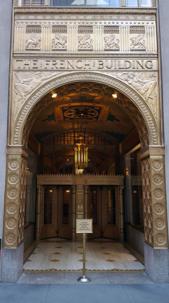 Entrance to the French Building