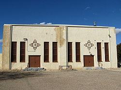 Amistad Gymnasium (Frontal View)