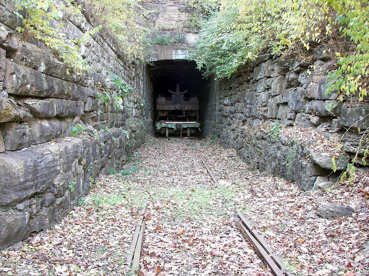 One of the Barretts Tunnels