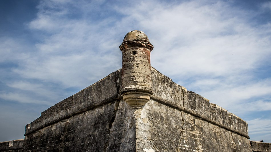 The Southwest bastion is part of the original fortification and has stood for over three hundred years