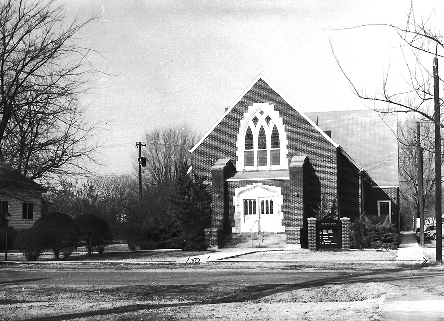 The fourth First Baptist Church building