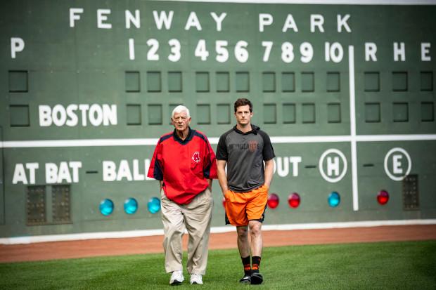 Mike Yastrzemski, grandson of Red Sox legend Carl Yastrzemski