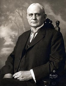 James Beauchamp Clark (1851-1921) served as Speaker of the U.S. House of Representatives from 1911-1919. Photo: Wikimedia Commons