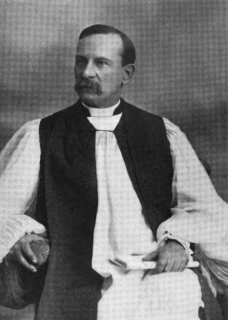 Photo of West Virginia's first Episcopal bishop, George Peterkin. Courtesy of Wikipedia.