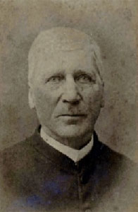 Photo of William T. Leavell, first rector of Saint Mark's. Courtesy of Charles City County website.