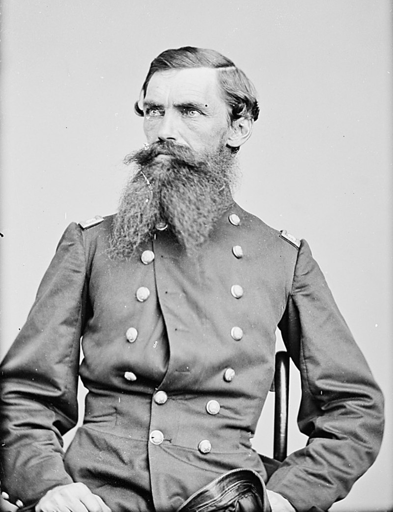 David Hunter Strother in uniform. Strother served as a topographer and general's aide during the American Civil War. Courtesy of Wikipedia.