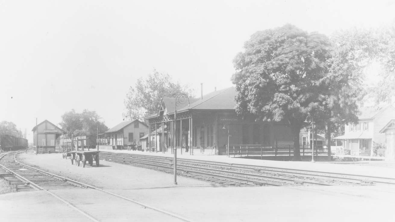 Station as it appeared in the 1920s