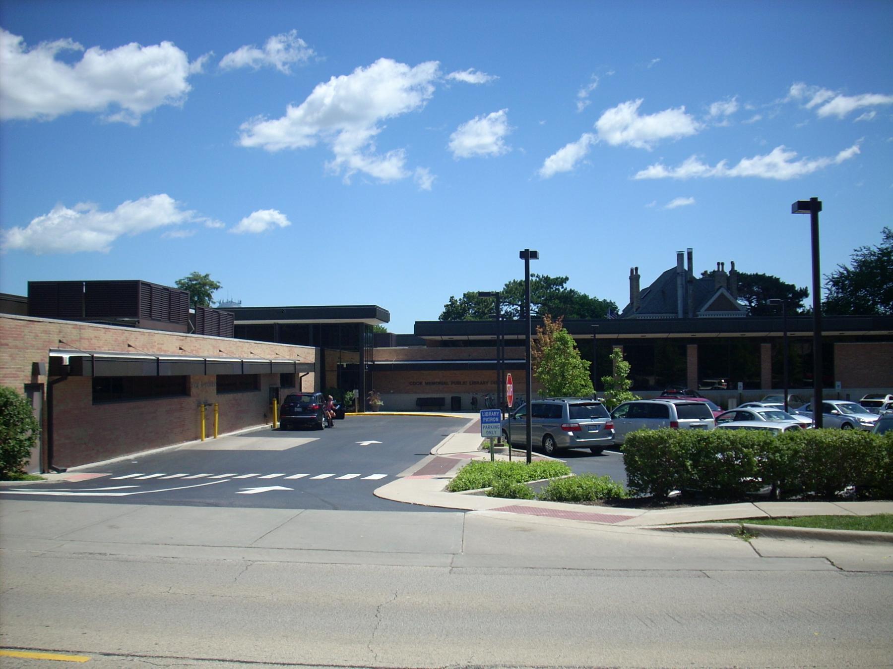 Cook Memorial Public Library, circa 2016