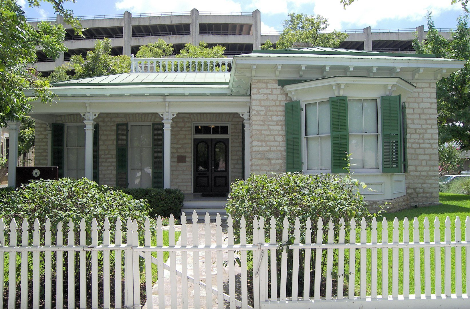 The Hirshfeld Cottage: Before building the mansion in 1885, the Hirshfeld family built the cottage on the same lot in 1873.
