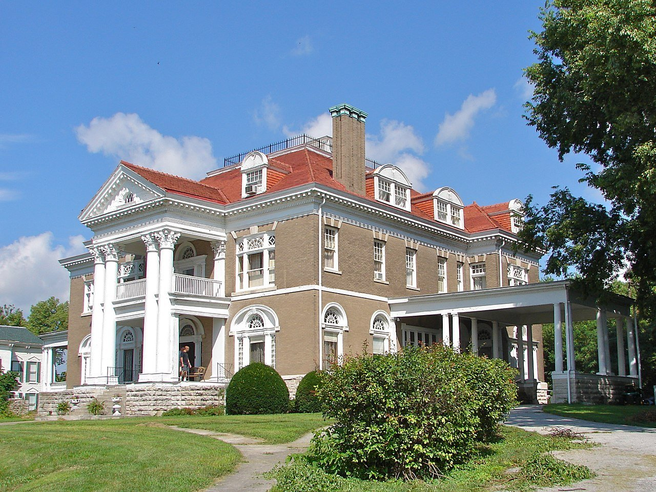 Rockcliffe Mansion was built in 1900.