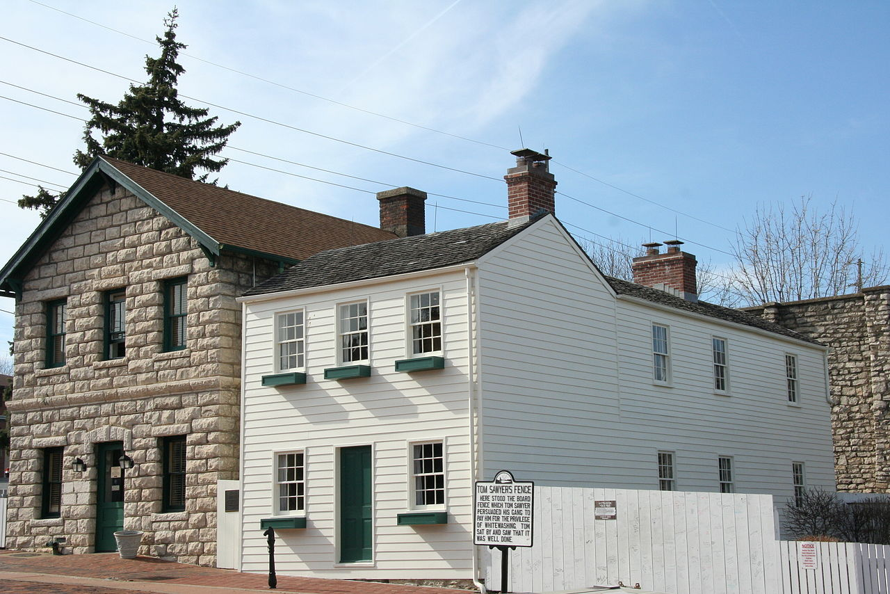 The Mark Twain Boyhood Home is one of several historic properties at the museum.