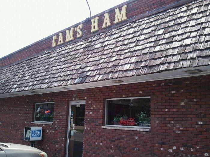 Exterior of Cam's Ham