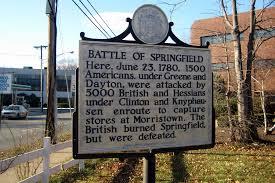 Battle of Springfield Historical Marker
