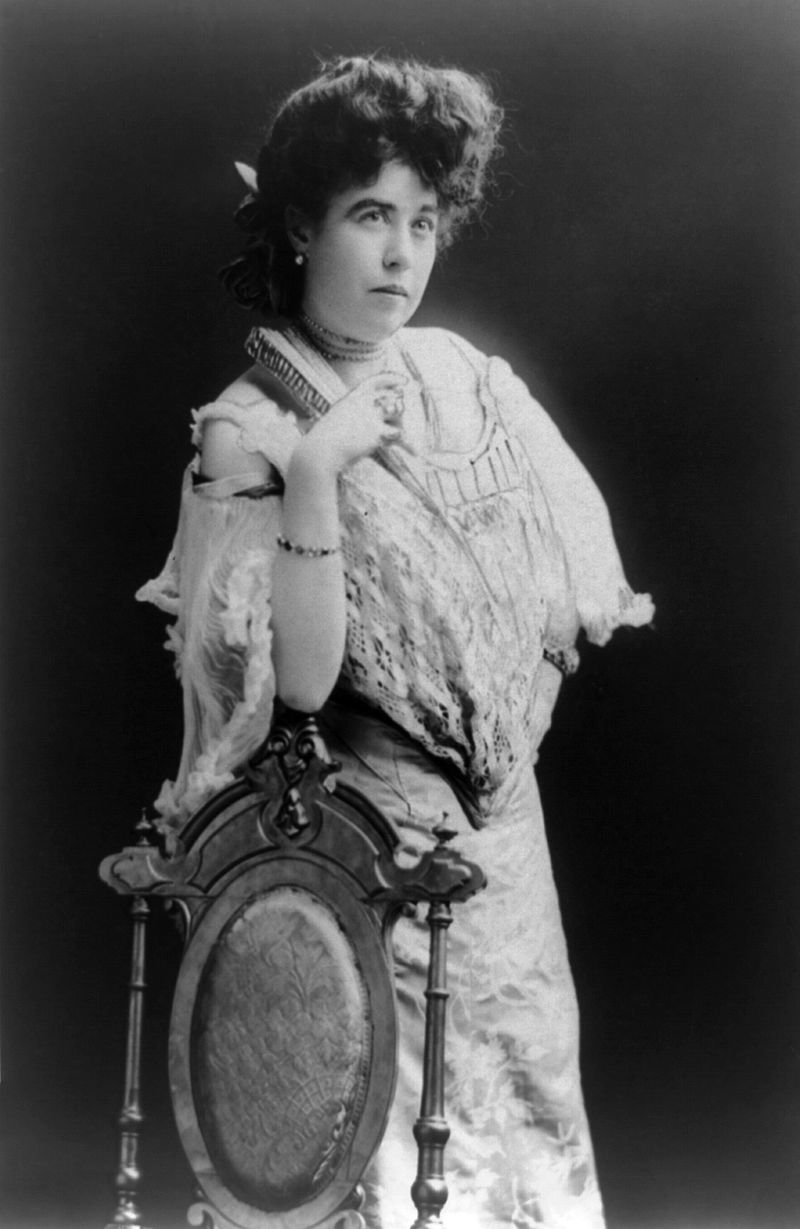 "Margaret Tobin Brown (1867-1932) would earn the nickname ""The Unsinkable Molly Brown"" for her actions during the sinking of the Titanic. Photo: Wikimedia Commons"