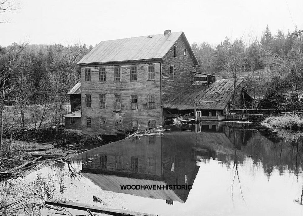 Ben's Mill prior to its restoration.