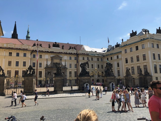 Prague Castle Gates
