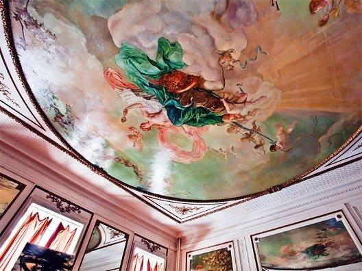 The home's interior