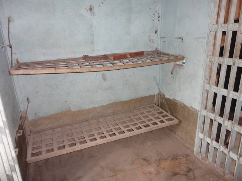 Cell inside Metcalfe County Jail, 2013