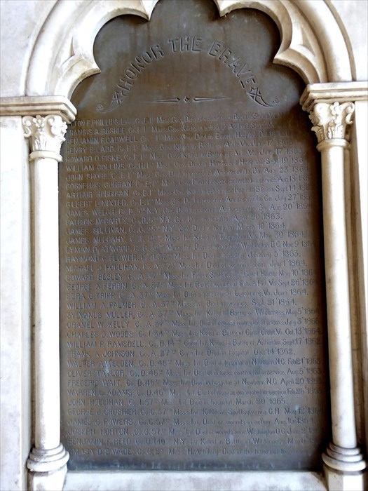 Close-up of the south tablet.