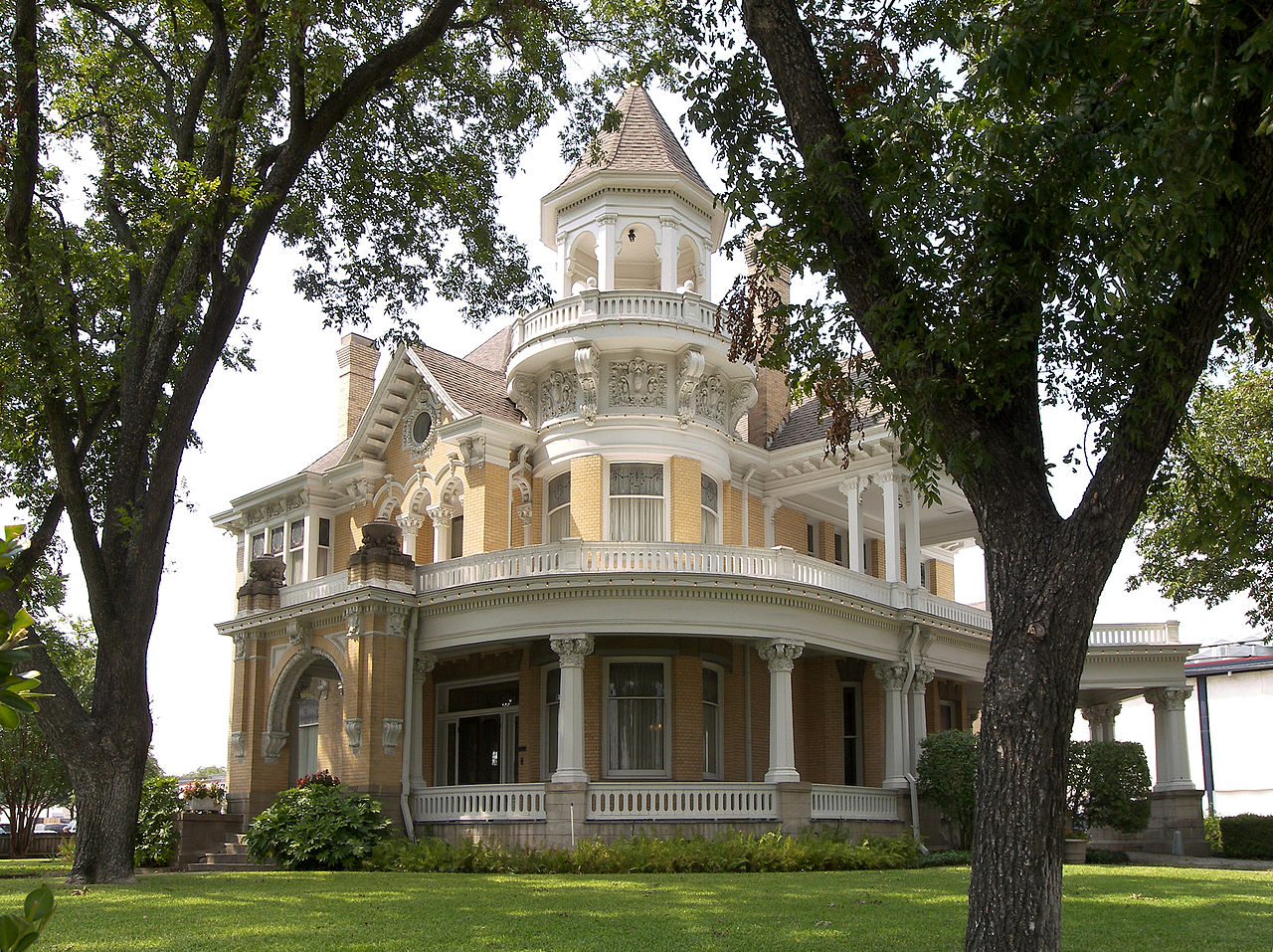"The Madison Cooper House was built in 1907. In the attic, Madison Cooper Jr. wrote his famous novel ""Sironia, Texas."""