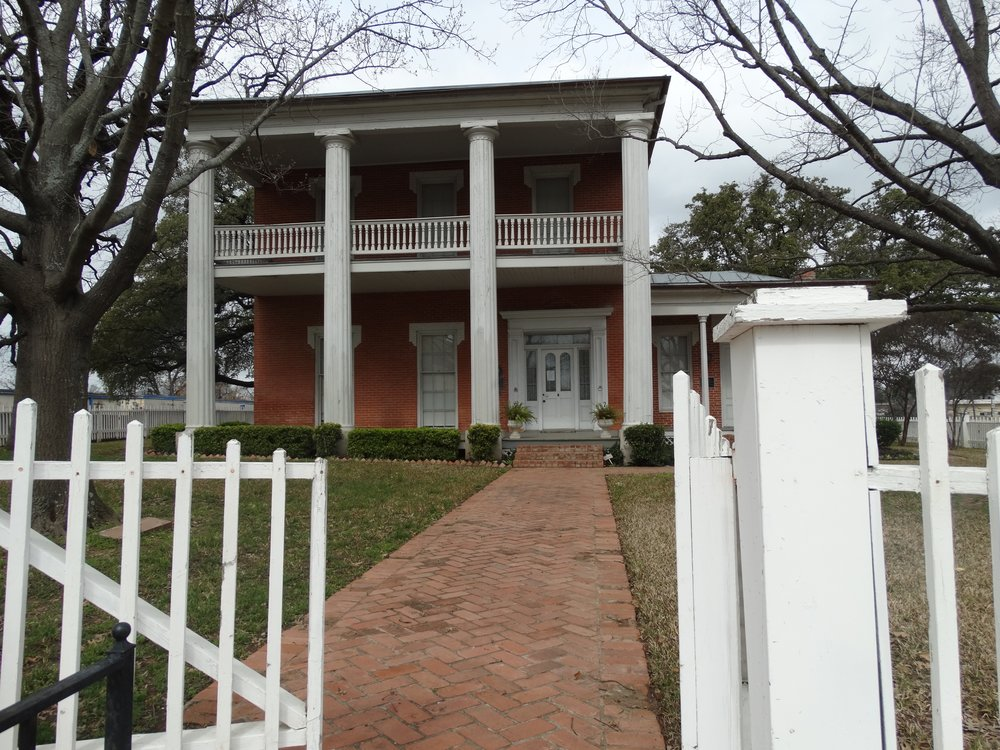The McCulloch House was first built in 1866 and then enlarged in the early 1870s by its namesake, Champ Carter McCulloch.