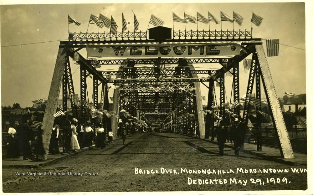 Dedication of the second Westover Bridge in on May 29, 1909.