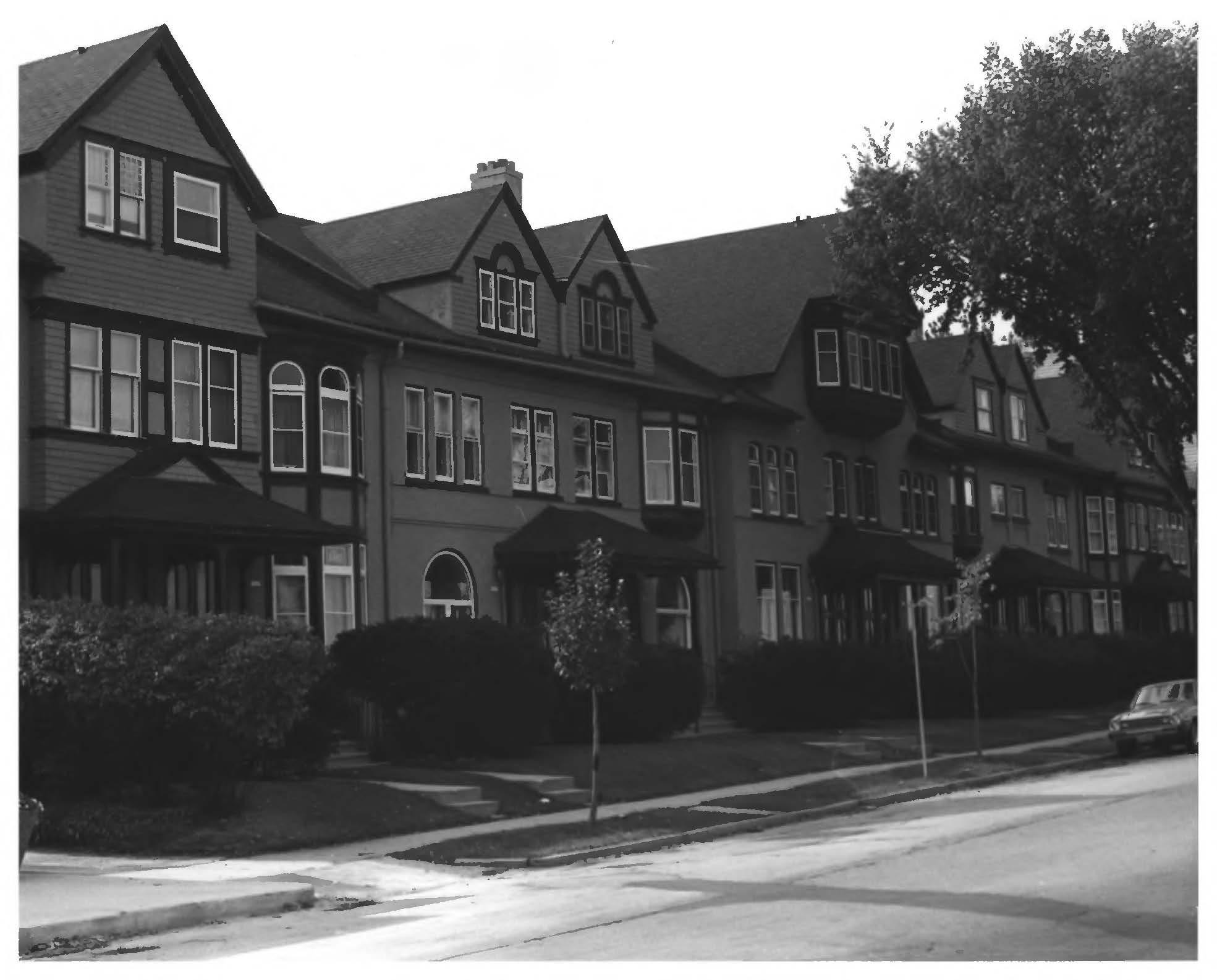 Abbot Row, 1982