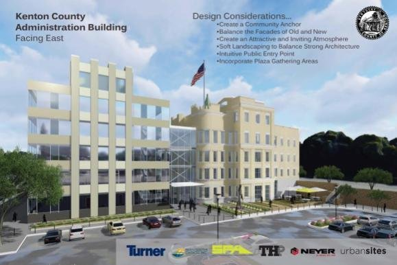 2017 Kenton County Administration Building design considerations