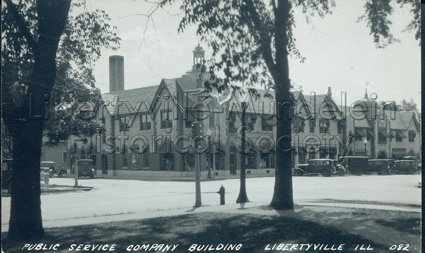 Public Services Building, 1930s