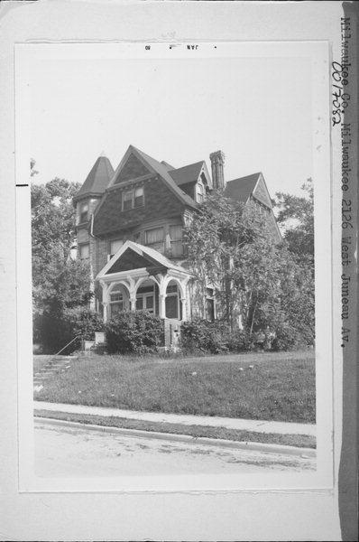 Charles Abresch House 1984.