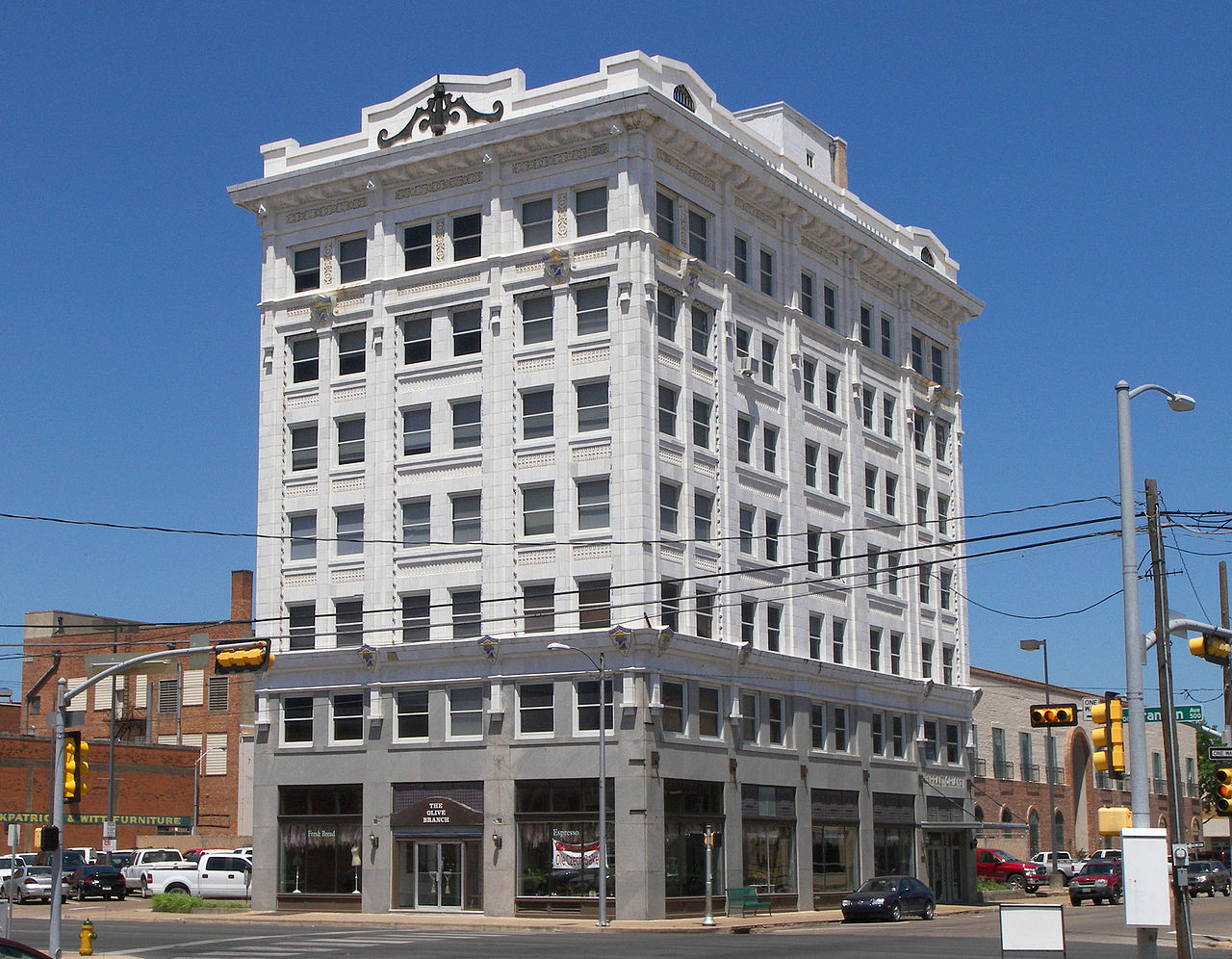 The Praetorian Building is a fine example of the Chicago style of architecture and remains an important Waco landmark.