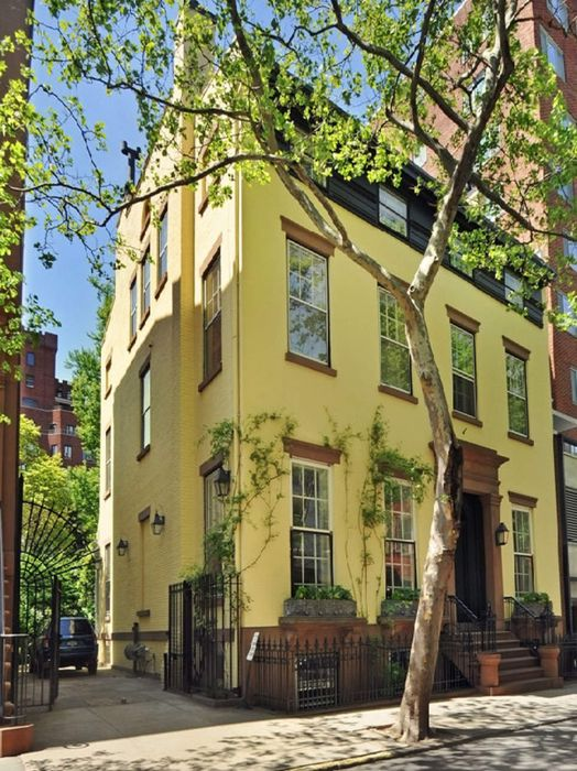 The former home of Truman Capote as it appeared in his lifetime