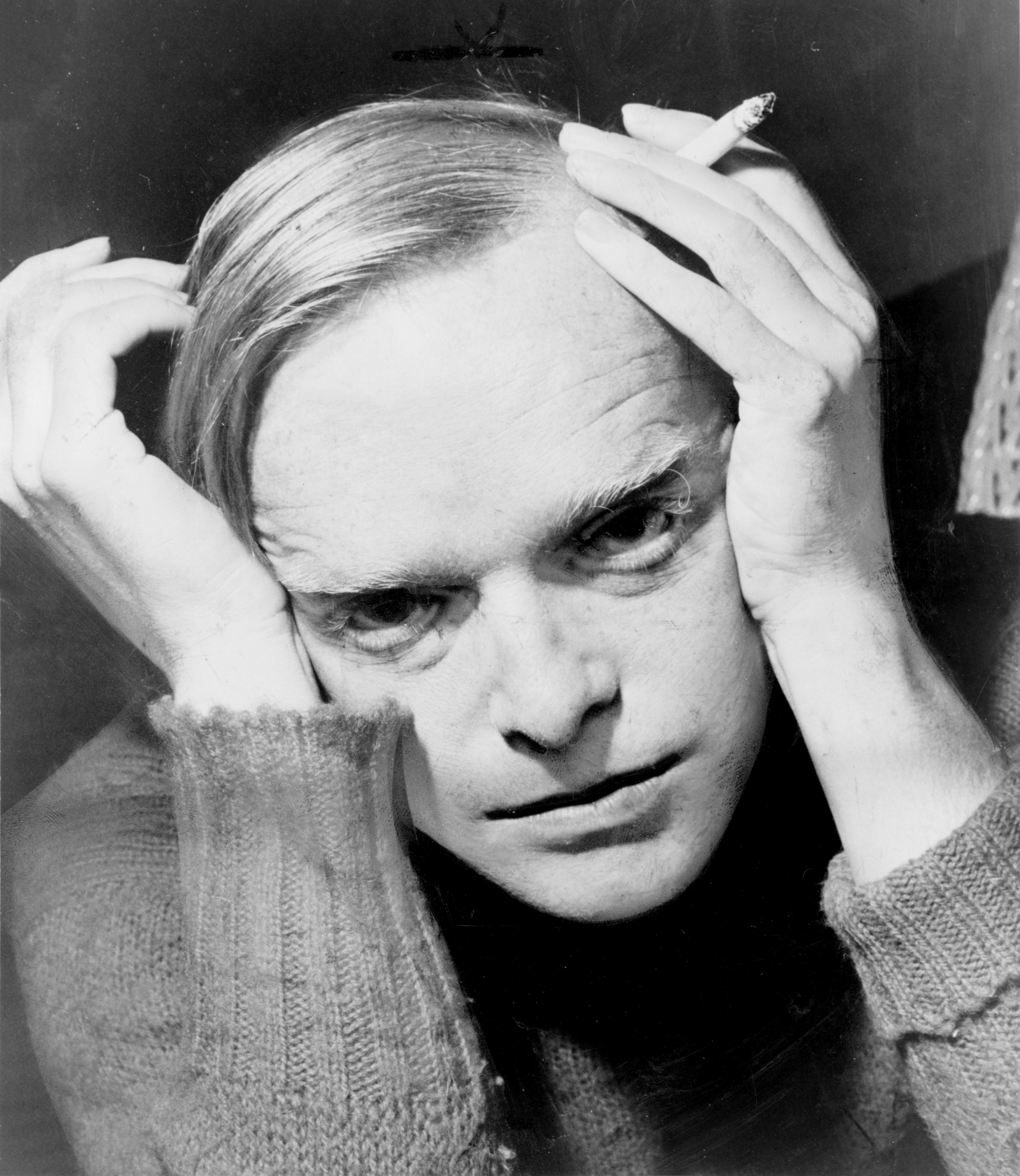 Truman Capote in 1959, during the time he lived at 7 Willow Street