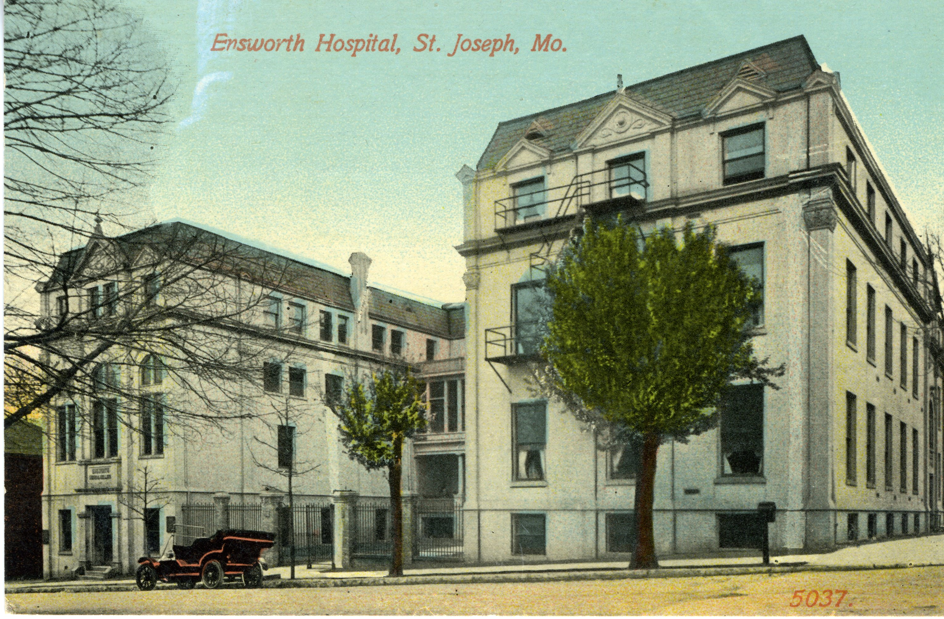 Postcard of the Ensworth Medical College.