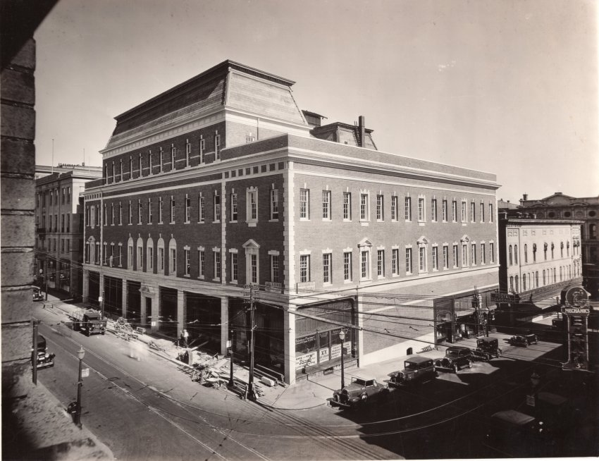 Tootle Opera House remodel, Lehr Construction Co. 1933.