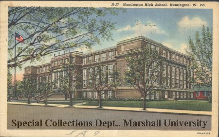 Postcard of HHS, 1943
